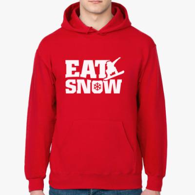 Толстовка худи Ешь снег!