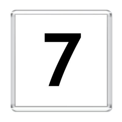 Магнит Цифра 7