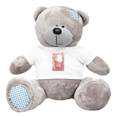 Плюшевый мишка Тедди Рыжая девочка