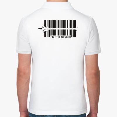 Рубашка поло Fuck the System