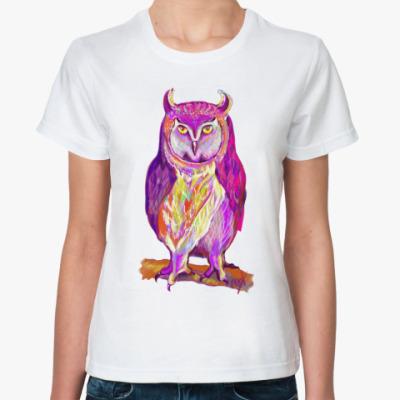 Классическая футболка Призрак ночи
