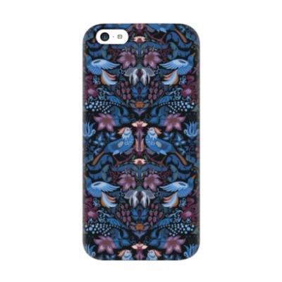 Чехол для iPhone 5c Синяя птица счастья