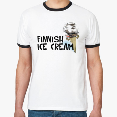Футболка Ringer-T Finnish Ice Cream