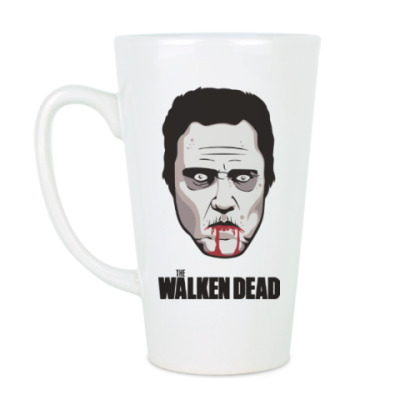 Чашка Латте Walken Dead
