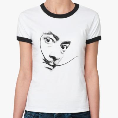 Женская футболка Ringer-T Усы