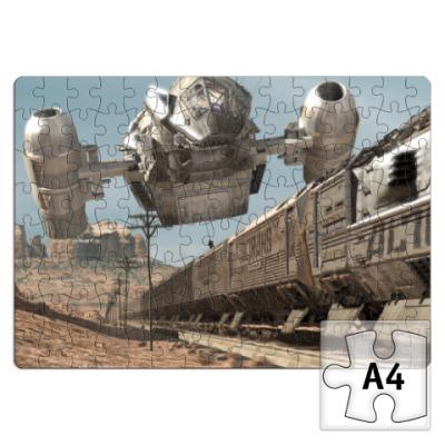 Пазл Светлячок: ограбление поезда