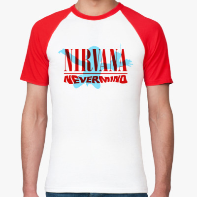 Футболка реглан Nirvana