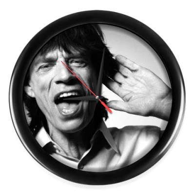 Настенные часы 'Mick Jagger'