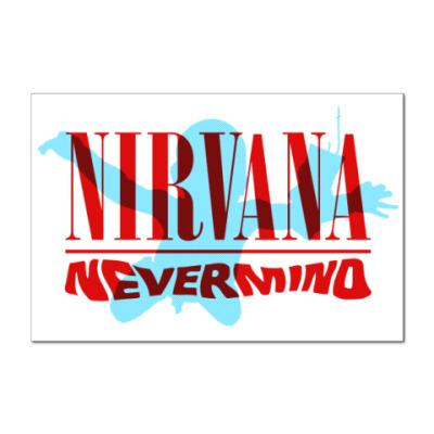 Наклейка (стикер) Nirvana