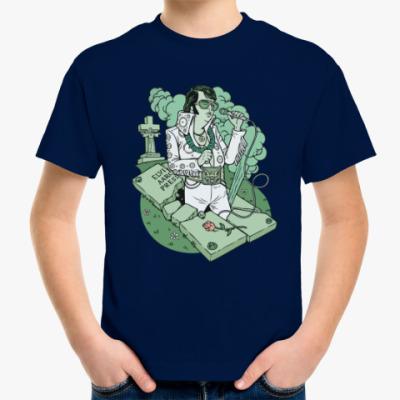 Детская футболка Элвис жив