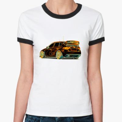 Женская футболка Ringer-T   Suba