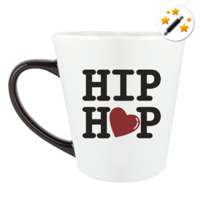 Кружка-хамелеон Люблю хип-хоп