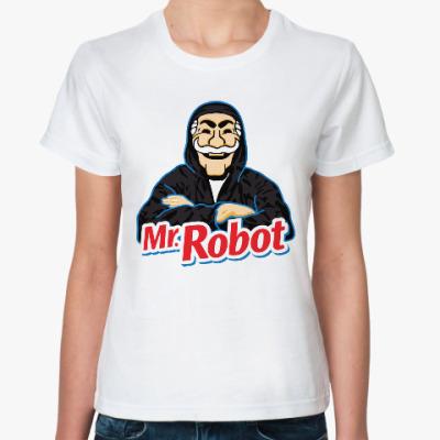 Классическая футболка Мистер Робот