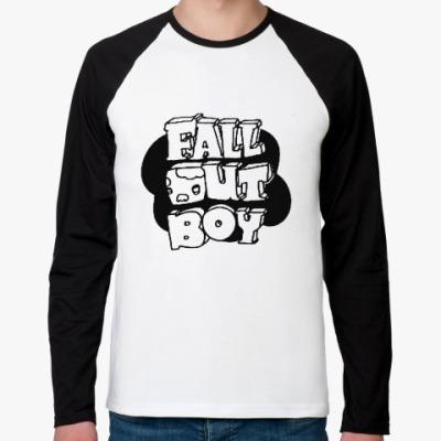 Футболка реглан с длинным рукавом Fall Out Boy