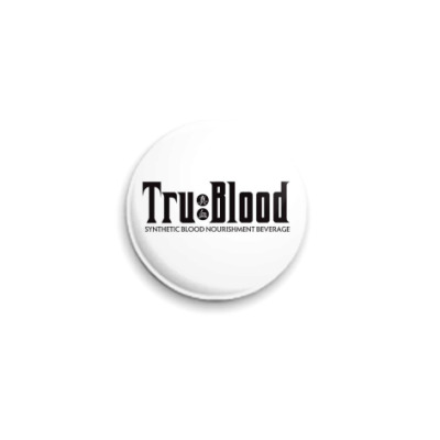 Значок 25мм  'True Blood'