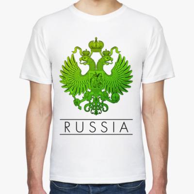 Футболка  герб России