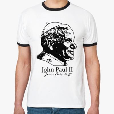 Футболка Ringer-T John Paul II