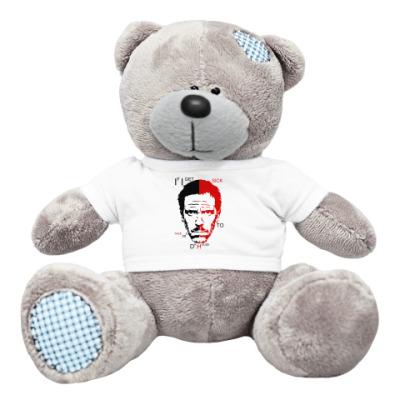 Плюшевый мишка Тедди Take me to dr.House