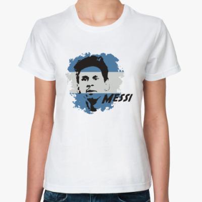 Классическая футболка Месси