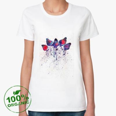 Женская футболка из органик-хлопка  Amelin Lé Pago