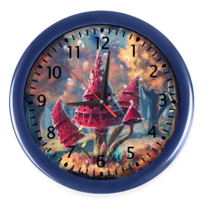 Настенные часы Часы Mushrooms