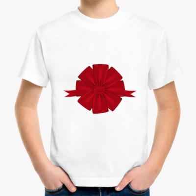 Детская футболка бант