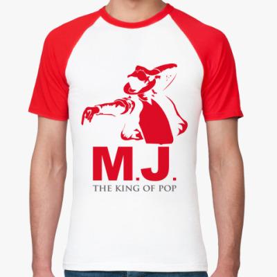 Футболка реглан M.J.