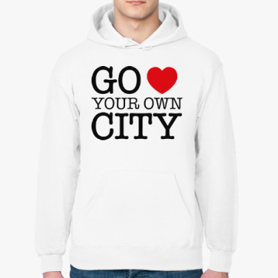 Толстовка худи Love your own city