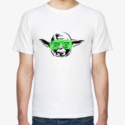 Футболка Йода в очках