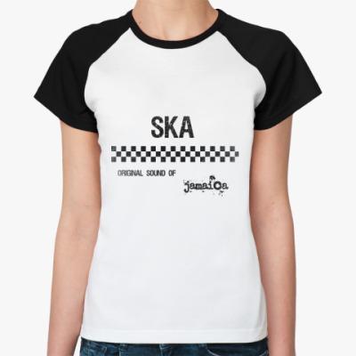 Женская футболка реглан Original ska  Ж ()