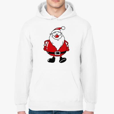 Толстовка худи Санта Клаус