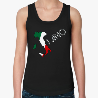 Женская майка Я люблю тебя по-итальянски