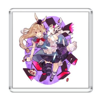 Магнит Alice in Wonderland