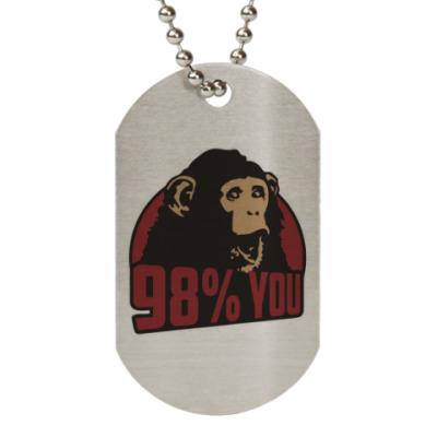 Жетон dog-tag 98% тебя