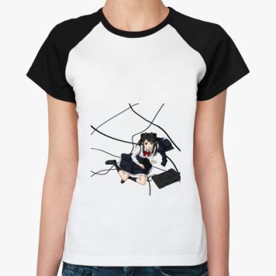 Женская футболка реглан  Аниме