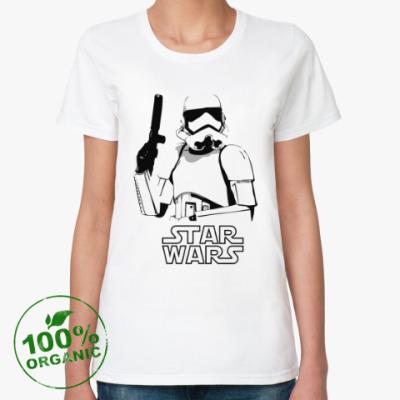 Женская футболка из органик-хлопка Star Wars VII