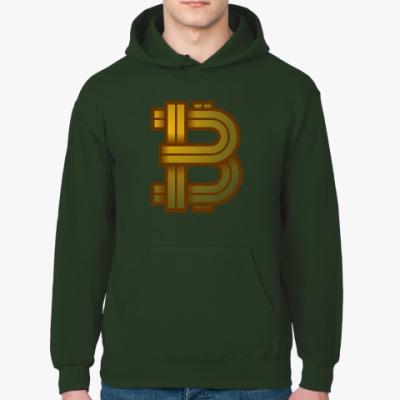 Толстовка худи Bitcoin BTC SYMBOL