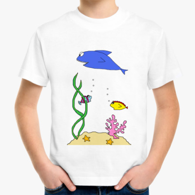 Детская футболка Sea