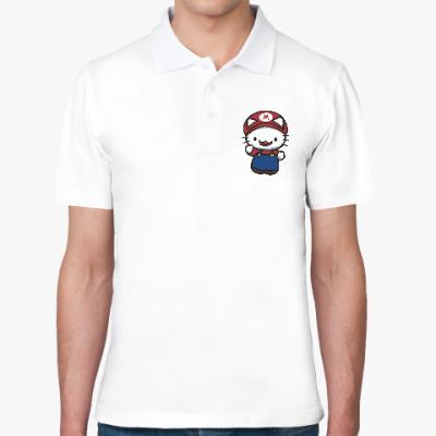 Рубашка поло Китти Марио