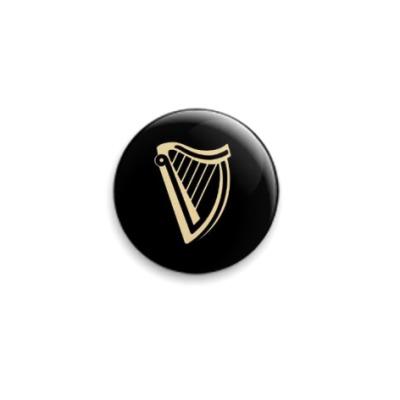 Значок 25мм  'Guinness'