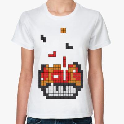 Классическая футболка Гриб из марио