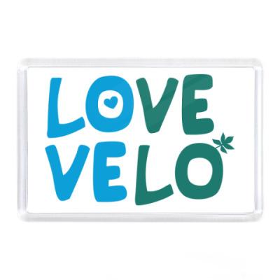 Магнит Love Velo