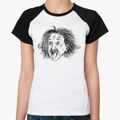 Женская футболка реглан Einstein