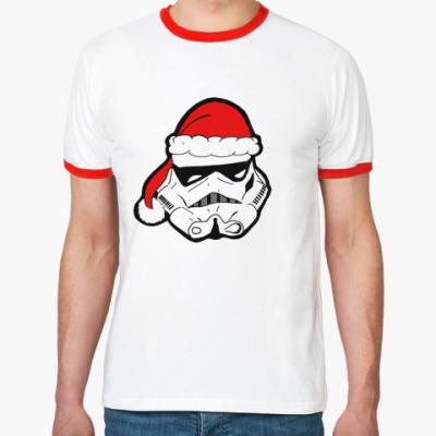 Футболка Ringer-T Christmas Stormtrooper