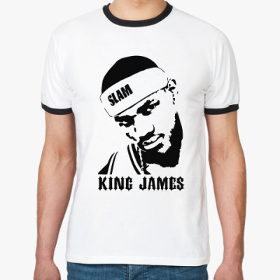 Футболка Ringer-T King James