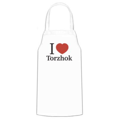 Фартук Я люблю Торжок