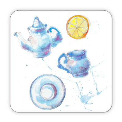 Костер (подставка под кружку) Чайная симфония