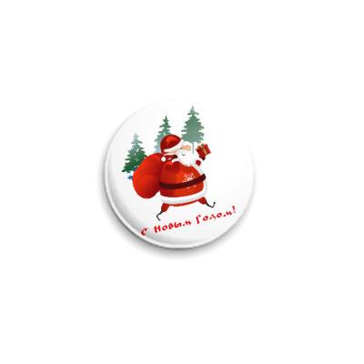 Значок 25мм Дед Moroz