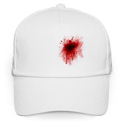 Кепка бейсболка Кровавый принт