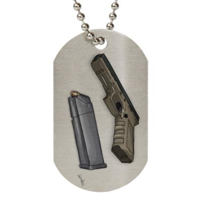Жетон dog-tag 'Glock 23'